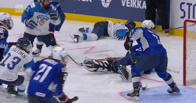 KURB: Soome naiste hokikoondis jäi MM-i finaalis USA-le alla
