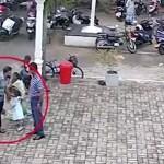 VIDEO: Sri Lanka enesetaputerrorist patsutas lapse pead enne kui läks kirikusse ja ennast õhku lasi