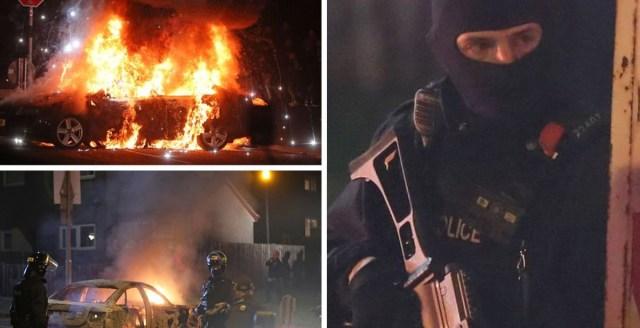 Kole terror Põhja-Iirimaal: autod põlevad, noor ajakirjanik lasti maha