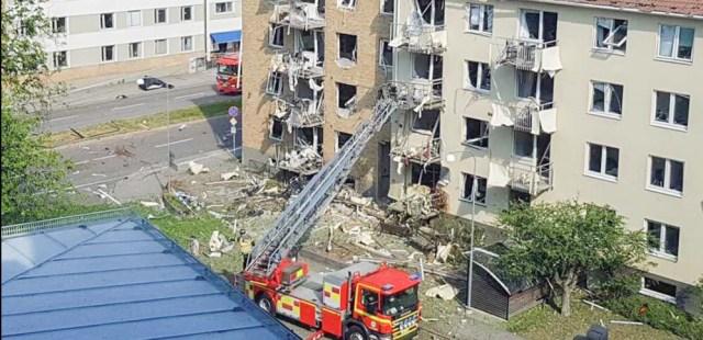 KUUM: Linköpingi plahvatuse põhjustas pomm, purustusi sai 109 korterit