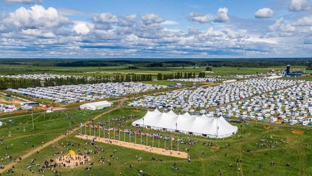Soome kristlased kogunevad tohutusuures laagris Suviseurat