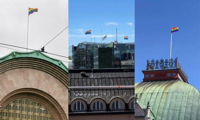 PILTUUDIS: Kas Soomes on võim üle võetud? Igal pool lehvivad vikerkaarelipud