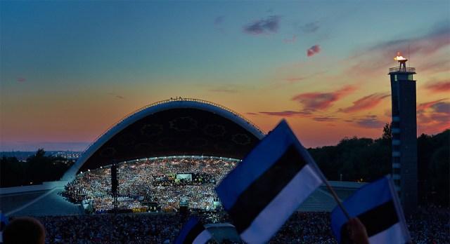 Eestlaste eeskujul püüti laulupidusid korraldada ka Soomes, kuid traditsioon jäi sündimata