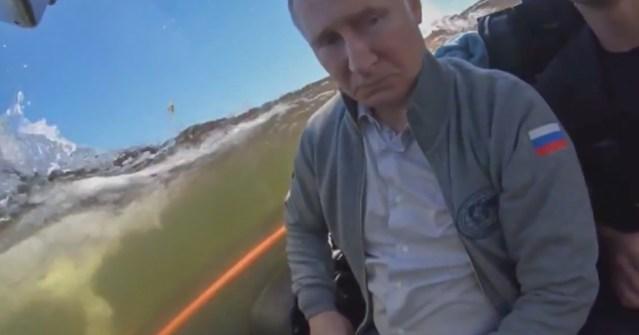 Putin sukeldus Soome lahe põhja