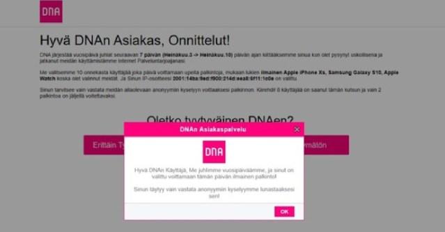 Karm värk: Soomes elav eestlane sai Eesti uudiseid lugedes telefoni ekraanile isikuandmeid kalastava teate