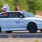 VIDEO: Selline oli auto, mis Lappeenranta kiirendusvõistlusel hirmsasse õnnetusse sattus