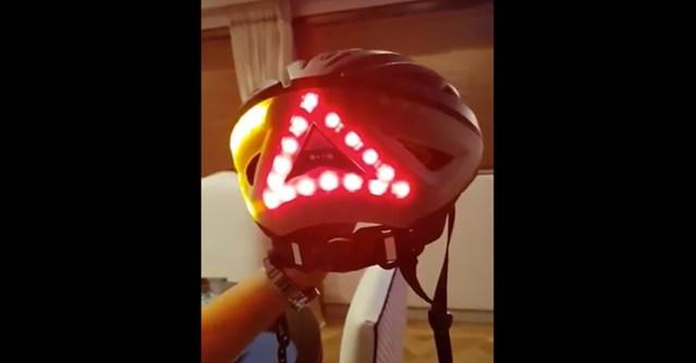 Soome liiklusturvalisuse juht soovitab suunatuledega jalgrattakiivrit – vaata videot!