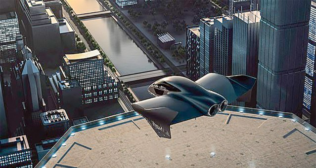Porsche töötab koos Boeinguga välja lendavat elektriautot