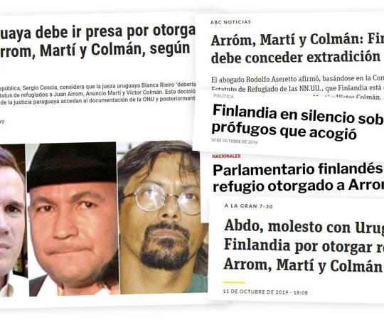 Soome võttis pagulastena vastu kolm inimröövis süüdistatud vasakpoolset aktivisti