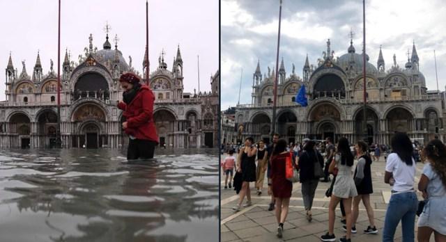 Veneetsias uputab – püha Markuse katedraali tungis vesi