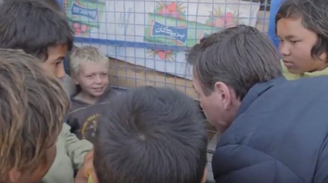 Šokeeriv video ISIS-e laagrist: väike 6-aastane blond poiss ütleb, et on Yousef ja Soomest
