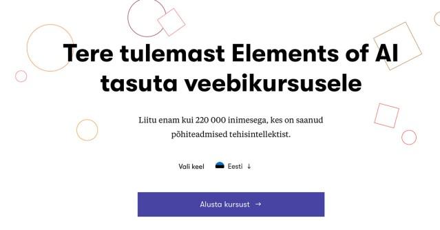 Hea teada: Soome pakub ELi eesistumise puhul kõigile tasuta veebikursust