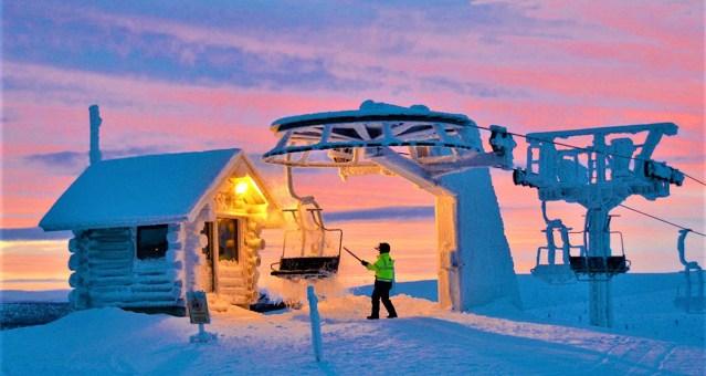 Soomes jäi mäesuusalift seisma, ligi 100 inimest olid kinni