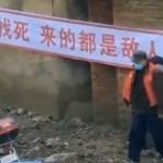 Hiinas on pandud tänavate äärde sildid kirjaga: Murrame teie jalad, kui välja lähete, ja murrame hambad, kui vastu vaidlete