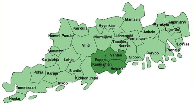 KUUM: Terve Uusimaa maakond on nüüd koroona ulatusliku leviku faasis, piirangud laienevad