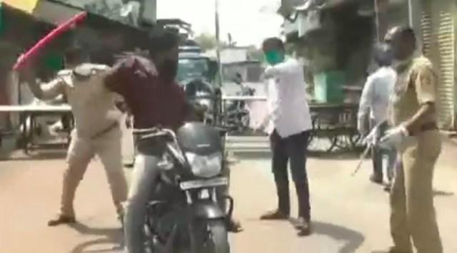 VIDEO: Nii käitutakse Indias koroonakarantiini rikkujatega