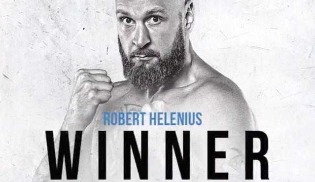 VIDEO: Soome poksija Robert Helenius lõi vastase nurka ja saavutas olulise võidu