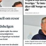 KUUM: Rootsis on koroonapaanika, Tegnell ähvardab ühistranspordi seisma panna