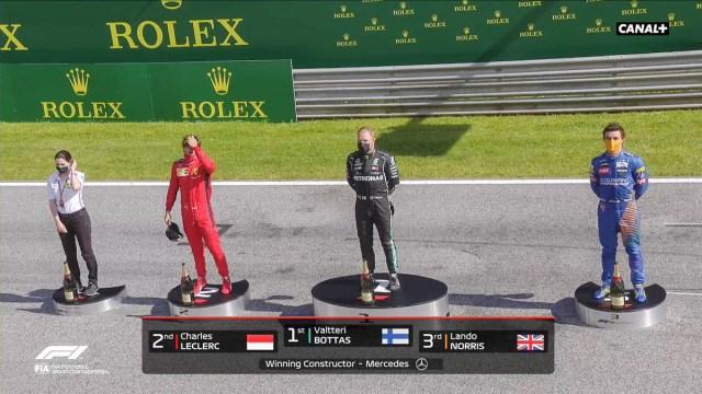 Soomlane Bottas võitis F1 etapi Austrias