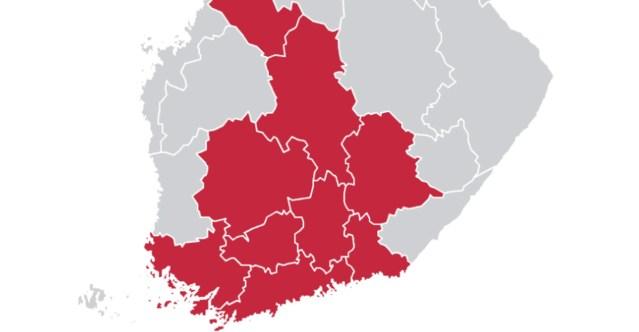 Soome terviseamet avaldas piirkonnad, kus koroonaga nakatumine suureneb ja kus tuleb järgida uut maskisoovitust