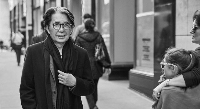 Jaapani moelooja Kenzo Takada suri koroona tagajärjel