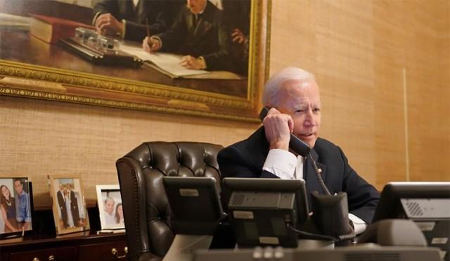 """KUUM: Biden helistas Ukraina asjus Putinile, Venemaa soovitas USA-l """"heaga"""" kõrvale hoida"""