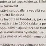 """KUUM: Soome ehitusfirma ähvardas töötajaid 1500 euro suuruse alusetu """"koroonatrahviga"""""""