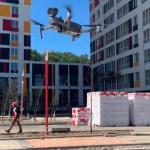 VIDEO: Vene ehitusobjektidel edastatakse koroona juhiseid droonidega