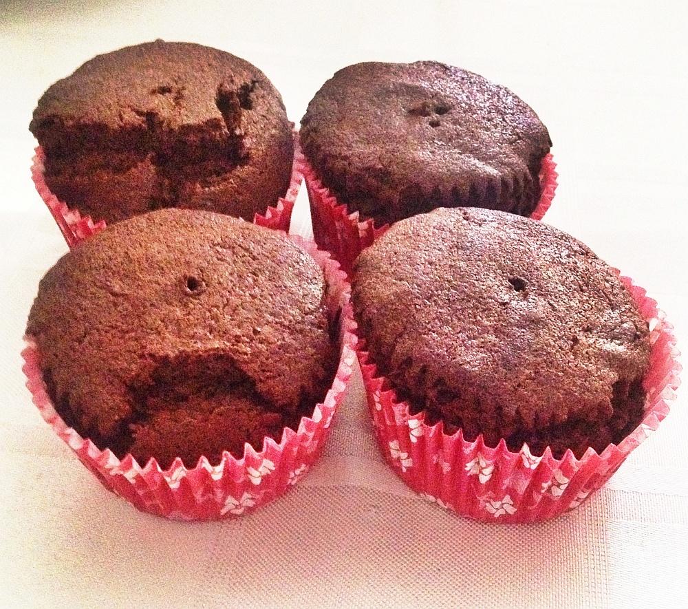 Chocolade Cupcakes Uit De Airfryer Of Oveneetnieuws