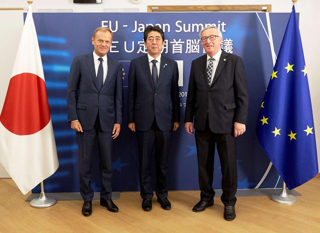 UE-Japan Summit Tokyo JUL18