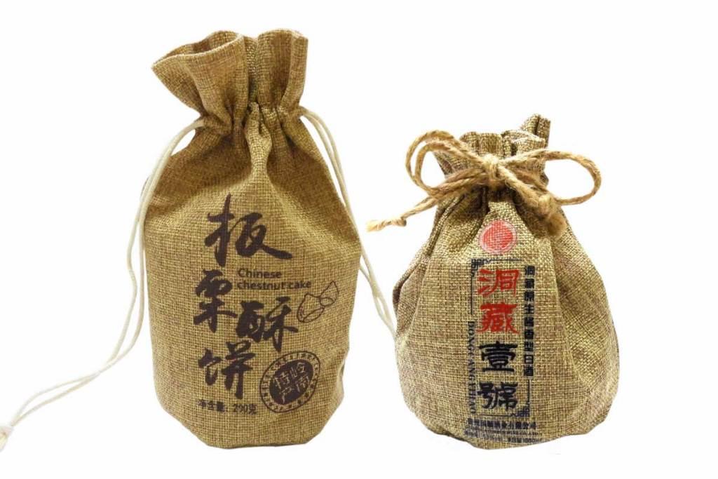 束口麻布包裝袋|誼源國際