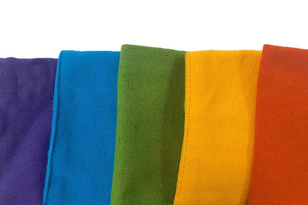 少量訂製帆布袋材質介紹-彩色布料-誼源國際