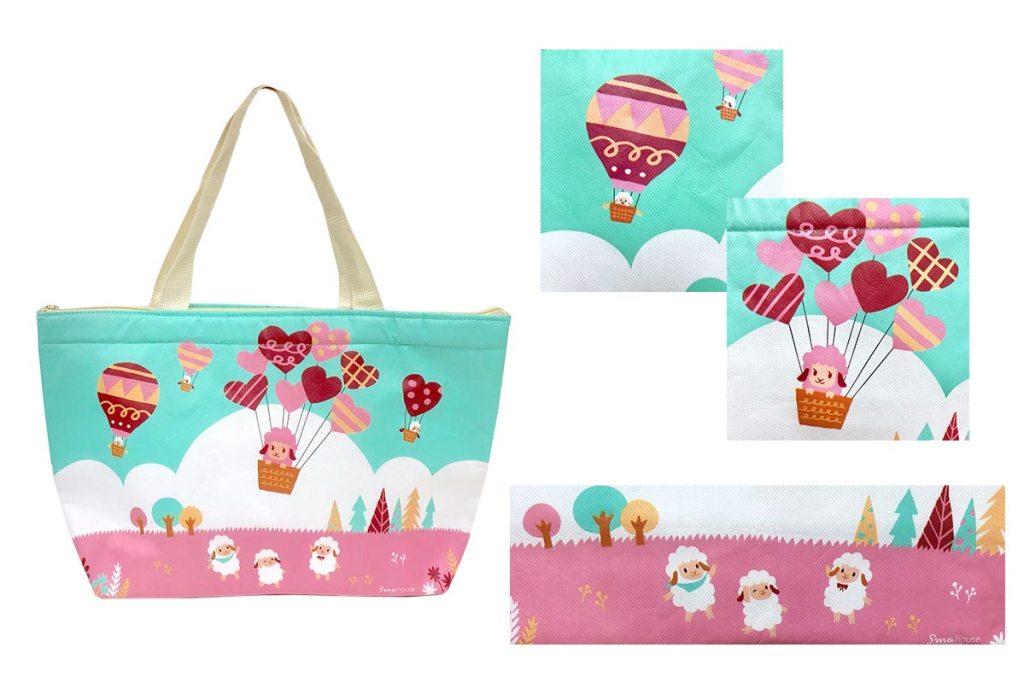 少量客製化保溫保冷袋-覆膜彩色印刷-誼源國際