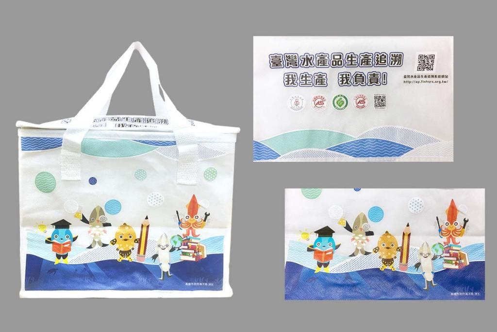 少量客製化保溫保冷袋-不織布熱轉印刷-誼源國際