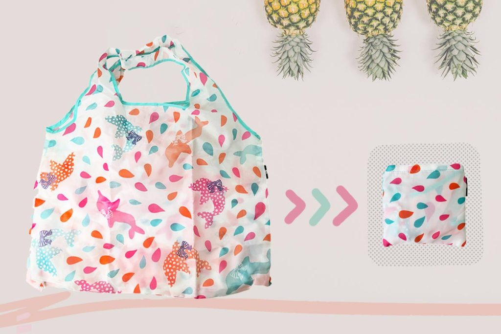 少量客製化摺疊購物袋-誼源國際