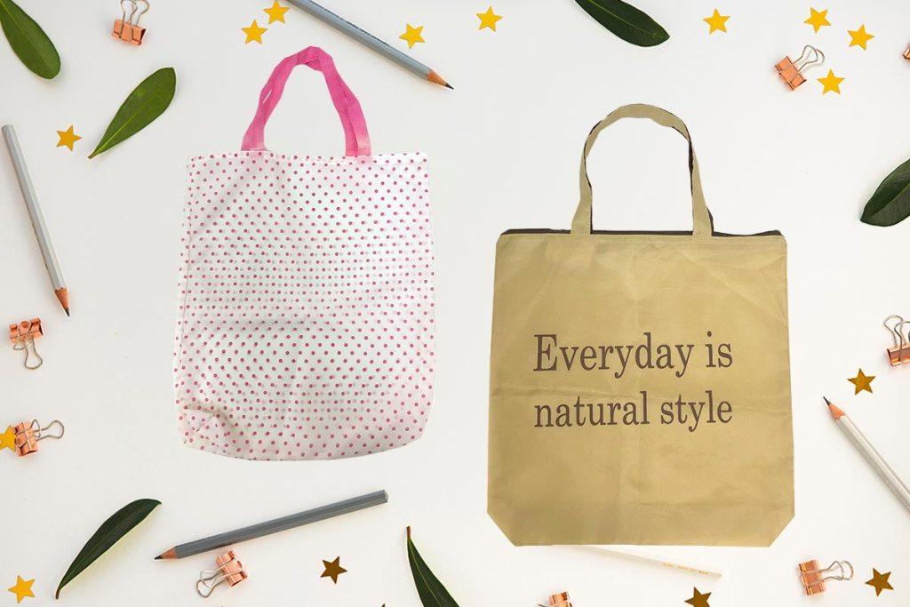 折疊環保袋客製可以加logo印刷
