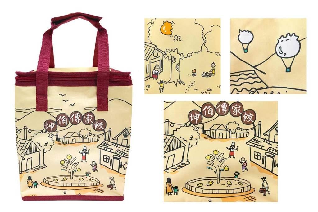 少量客製化保溫保冷袋-熱昇華彩色印刷-誼源國際