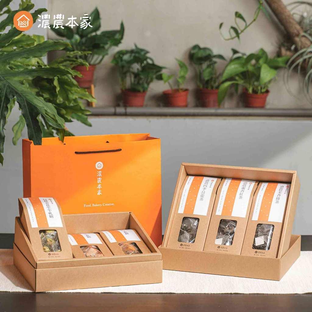 彩盒印刷厚牛皮紙食品包裝盒
