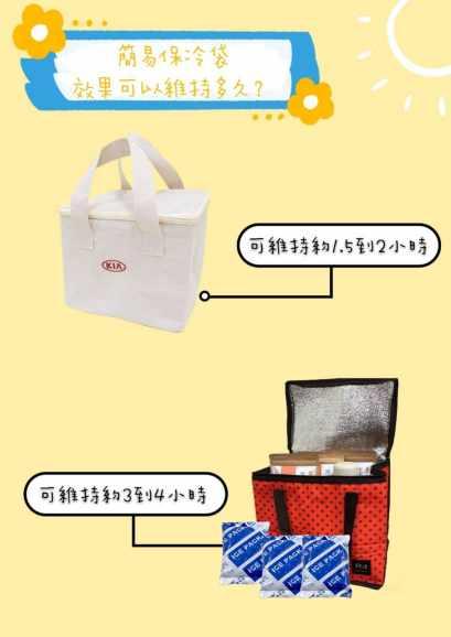 簡易保冷袋效果可以維持多久