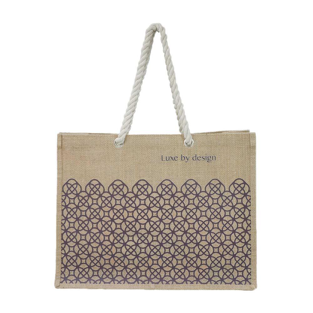 麻布手提袋印刷 - 活動送流行購物袋-誼源國際