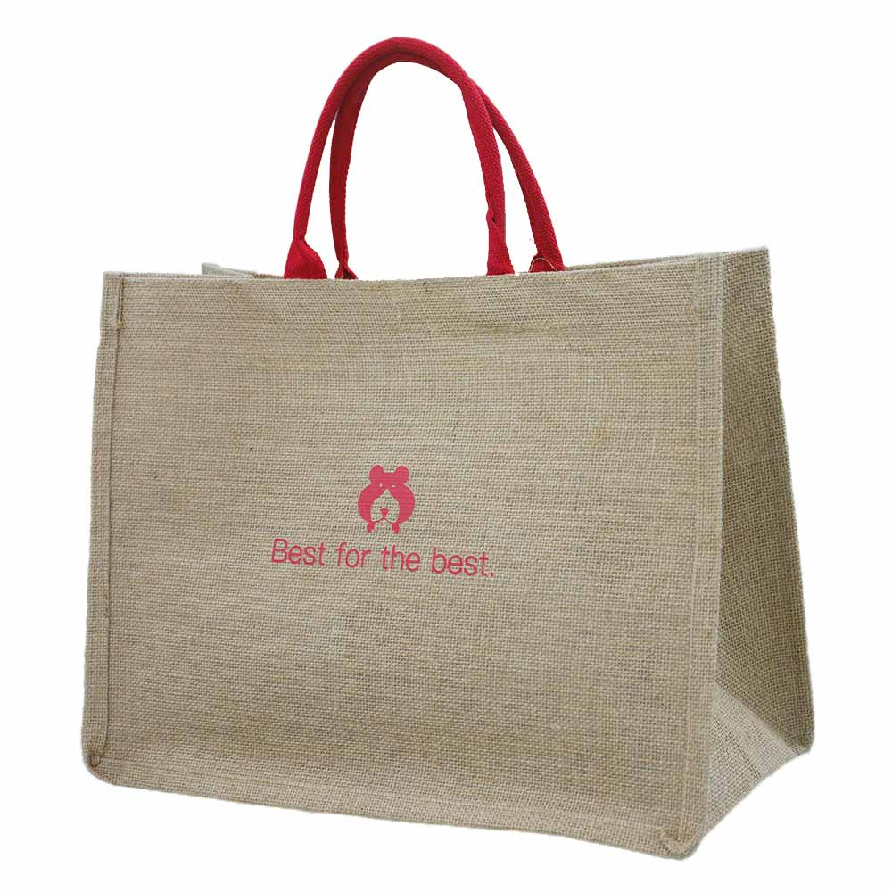 防水麻布手提袋訂製 - 百貨週慶年福袋送禮麻布環保袋-誼源國際