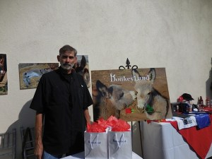 Dan from Donkeyland.org, a non-profit based in Riverside County and San Bernadino County