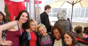 With the lovely cast of Little Women. From left to right, myself with Elena, Terra, Tonya and Traci