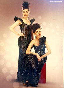 Futuristic red carpet gowns from world wide sensation Sai Suman