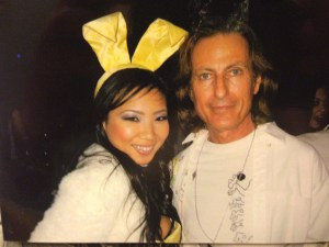 Playboy model Hiromi Oshima with publisher, writer and world traveler, Erwin Glaub. Photo courtesy of the Experience Magazine Playboy model Hiromi Oshima with publisher, writer and world traveler, Erwin Glaub. Photo courtesy of the Experience Magazine