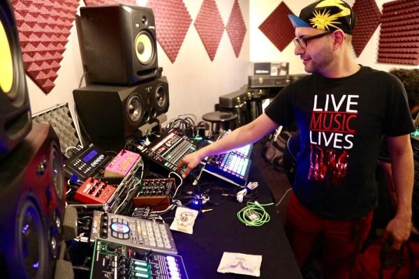 PBLA Instructor Gabriel 'Gato' Ferrer. Photo by DJ Sparks