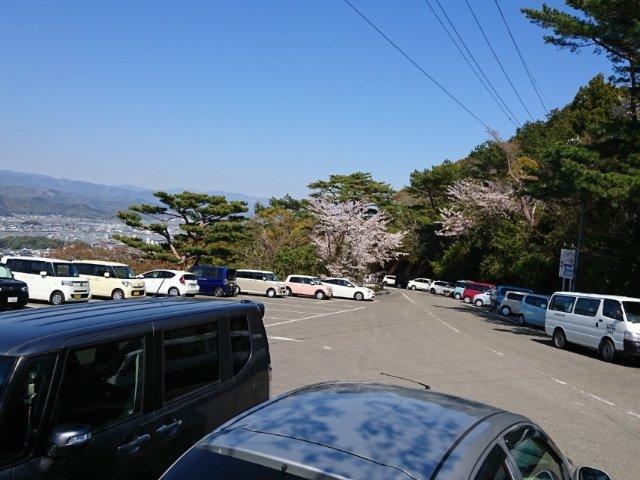 五台山駐車場