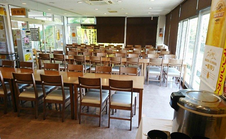 ホテルSP-haruno-のレストラン内観