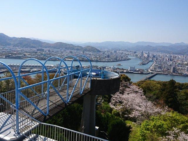 五台山公園展望台からの風景