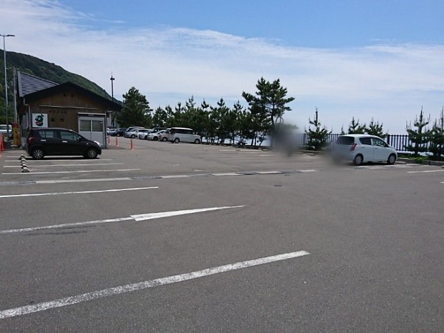 道の駅キラメッセ室戸の駐車場